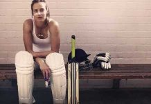 Sexy female cricketer Elesse Perry